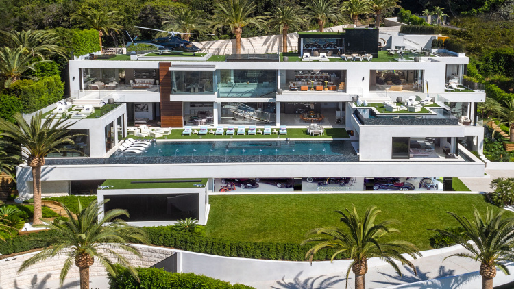 This $250 million house comes with its own car collection