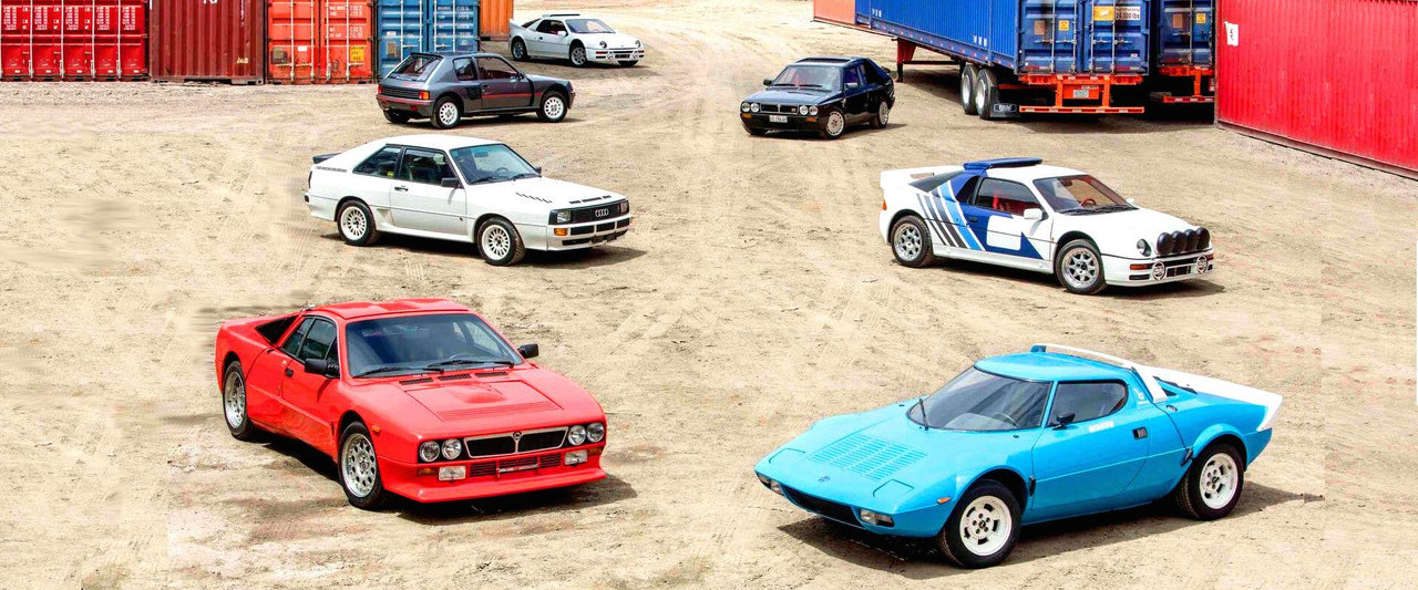 Amazing Group Of 'Killer B' Rally Cars Up For Auction