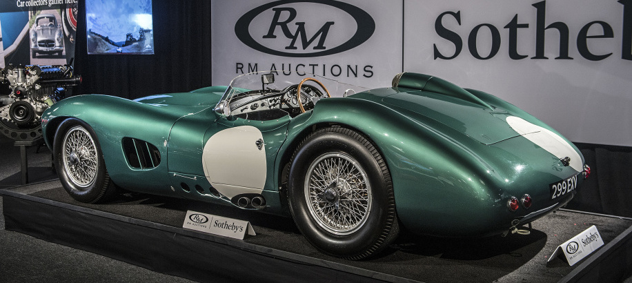 1956 Aston Martin DBR1/1 sells for record-breaking $22.6 million