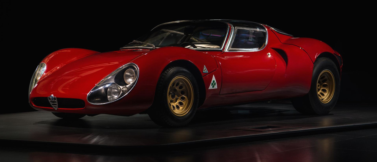 Legendary Alfa Romeo 33 Stradale Celebrates 50 Years