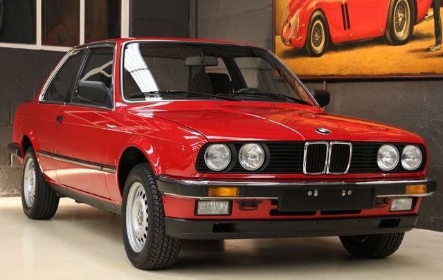 This 1985 BMW E30 3 Series Is Selling For Over $82k And It's Not An M3