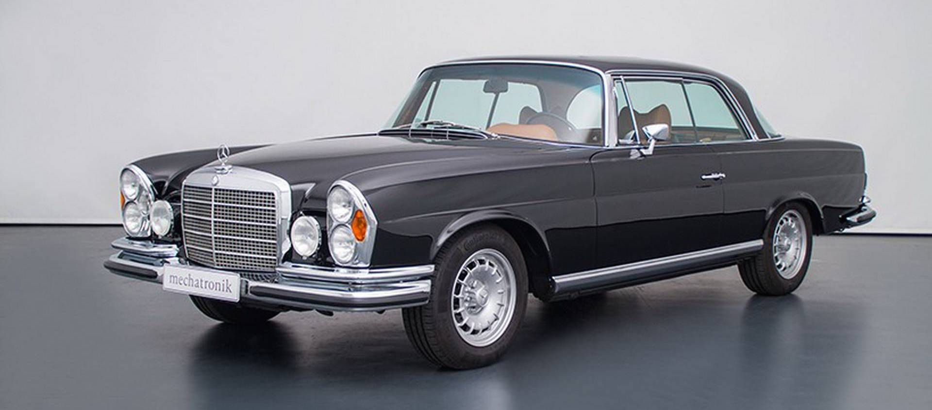 Mercedes W111 With An AMG V8 Could Be Yours For $465,000