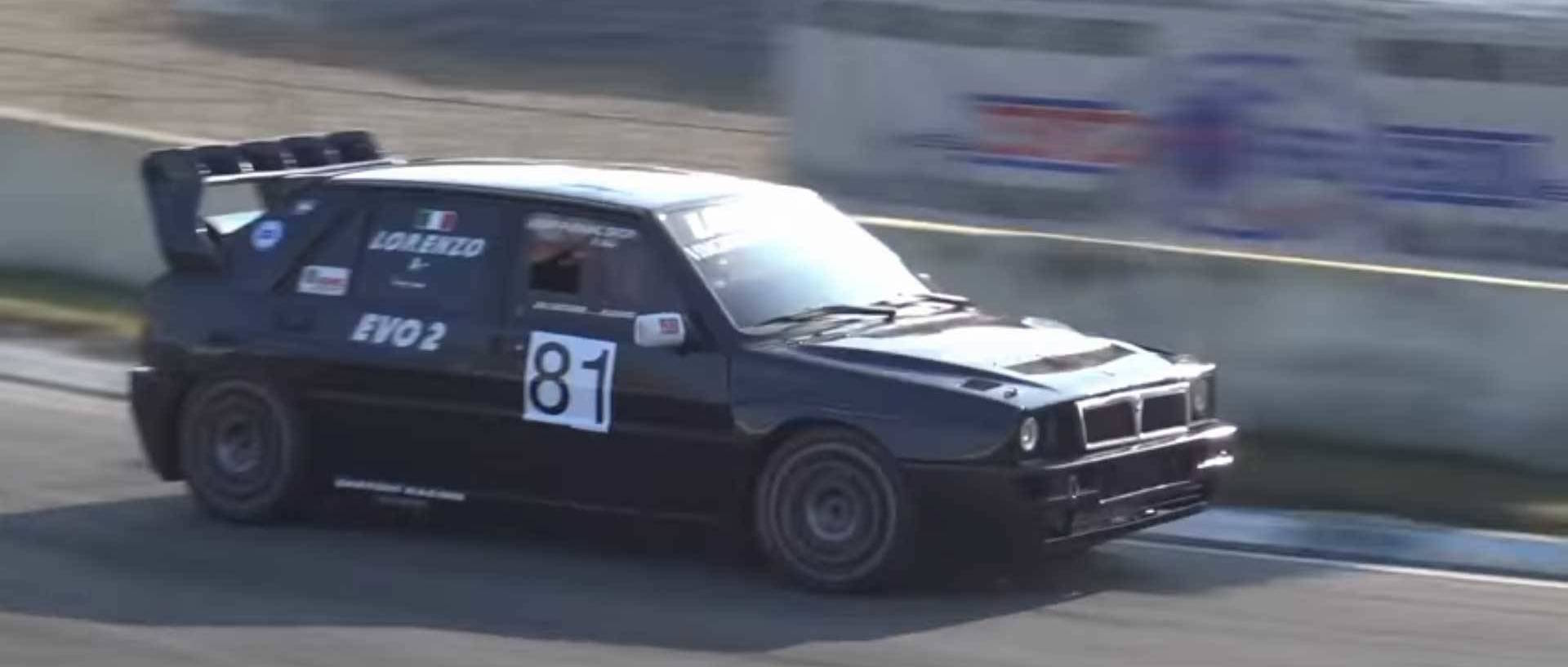 Listen To This 500-hp Lancia Delta Hf Integrale Make Glorious Music