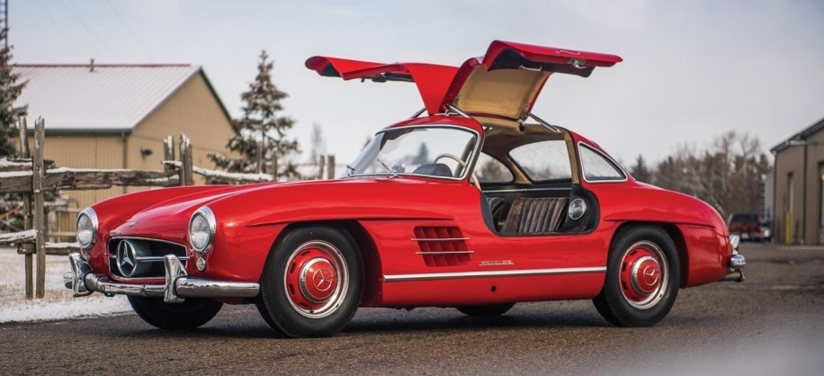 Three-owner 1957 Mercedes-Benz 300SL to be auctioned for charity