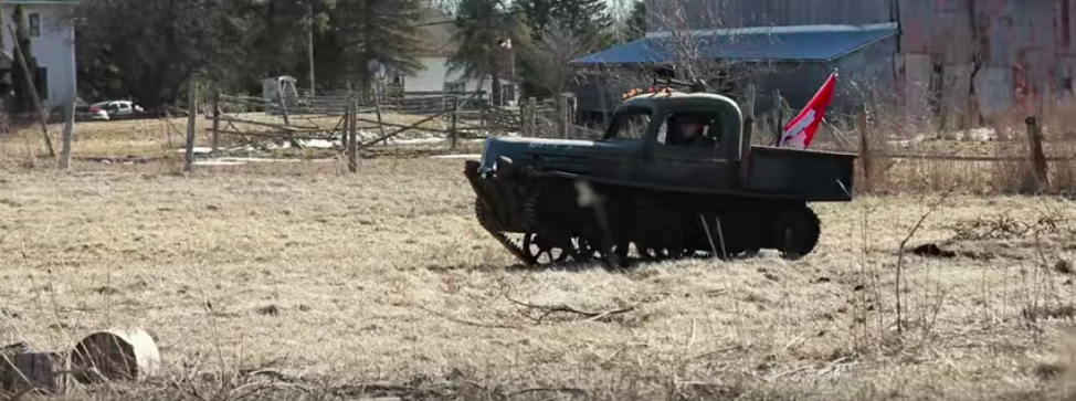 Tankenstein Is A World War Ii Tank Turned Hot Rod