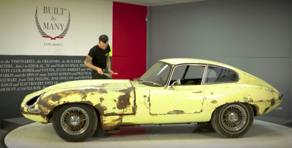 'Wheeler Dealers'' Edd China is back with new YouTube car restoration show