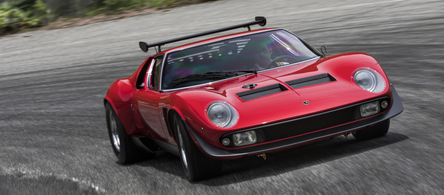 Lamborghini restores ultra-rare one-off Miura SVR