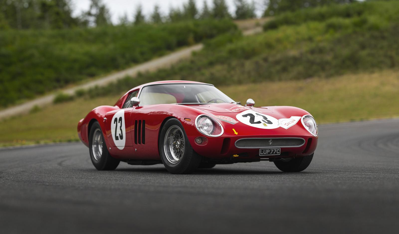 1962 ex-Phil Hill Ferrari 250 GTO sells for world record $48.4m!