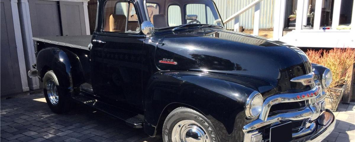 A good day to buy hard: Bruce Willis' hotrod pickup at auction