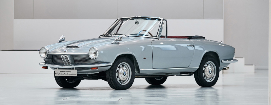 BMW apprentices restore ultra-rare 1600 GT convertible to tip-top shape
