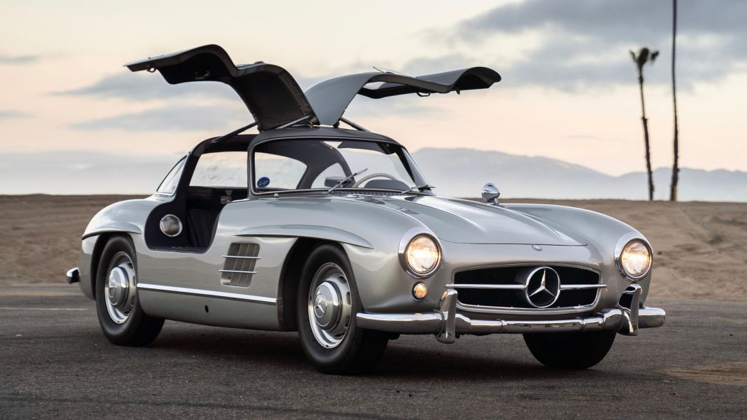 Maroon 5 singer Adam Levine's Mercedes-Benz 300SL Gullwing is going to auction
