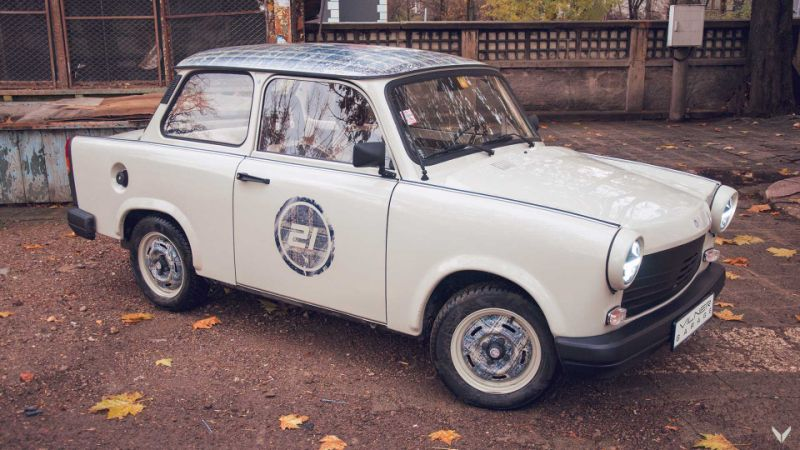 Old Trabant Gets Modern Interior Courtesy Of Vilner Garage