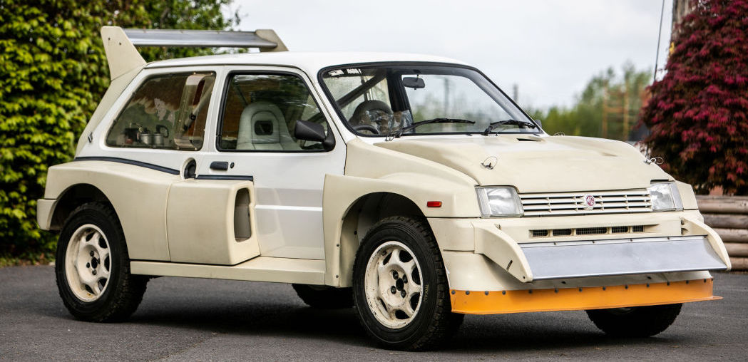 Legendary Group B MG Metro 6R4 going to auction with only 7 miles