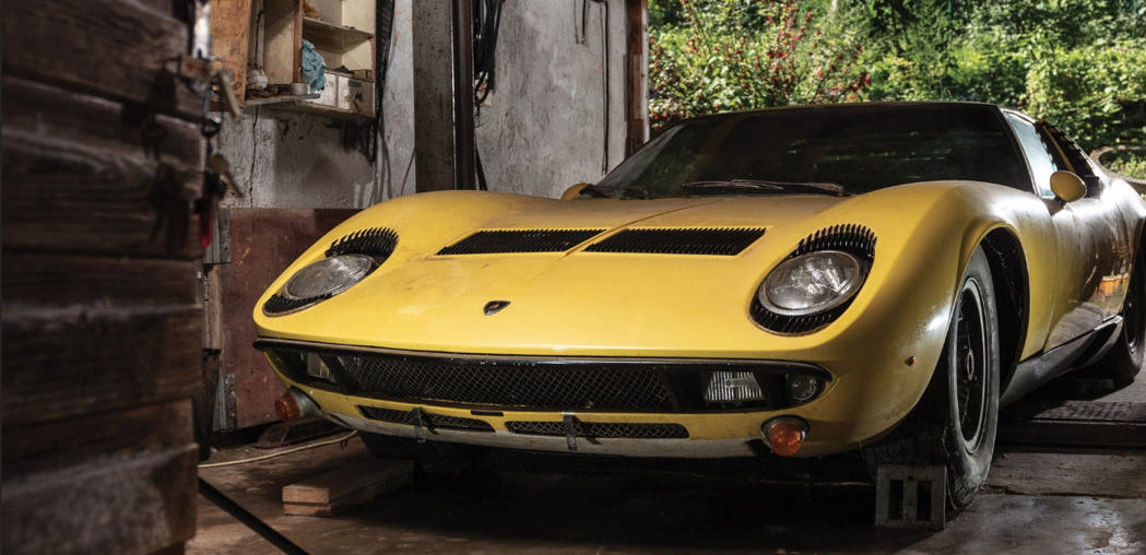 Barn-find 1969 Lamborghini Miura S headed to auction for its 50th birthday