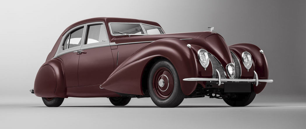 Bentley re-creates one-of-a-kind sports sedan destroyed in 1939