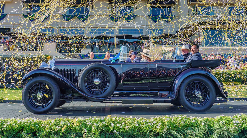 1931 Bentley 8 Litre is the 2019 Pebble Beach Concours Best of Show