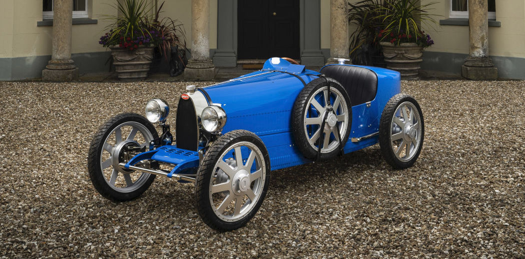 Bugatti to build composite, carbon fiber, and aluminum versions of Baby II