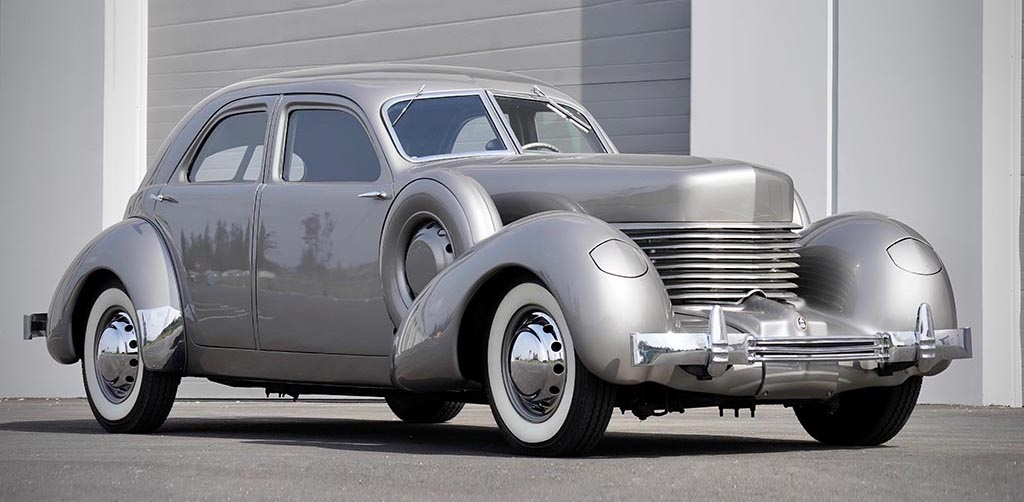 One-Off Armored 1937 Cord Beverly Up for Grabs with No Reserve