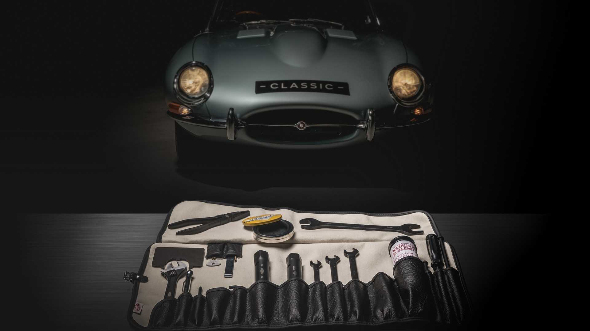 Jaguar Will Sell You An Original E-Type Toolkit For $1,000