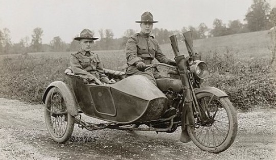 American-Made Motorcycles: Metal Soldiers of World War I