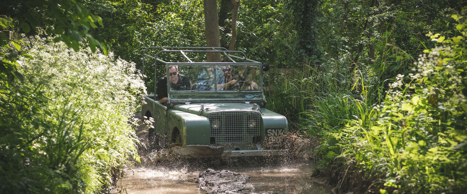 Original Land Rover launched in 1948 hits the road and mud again
