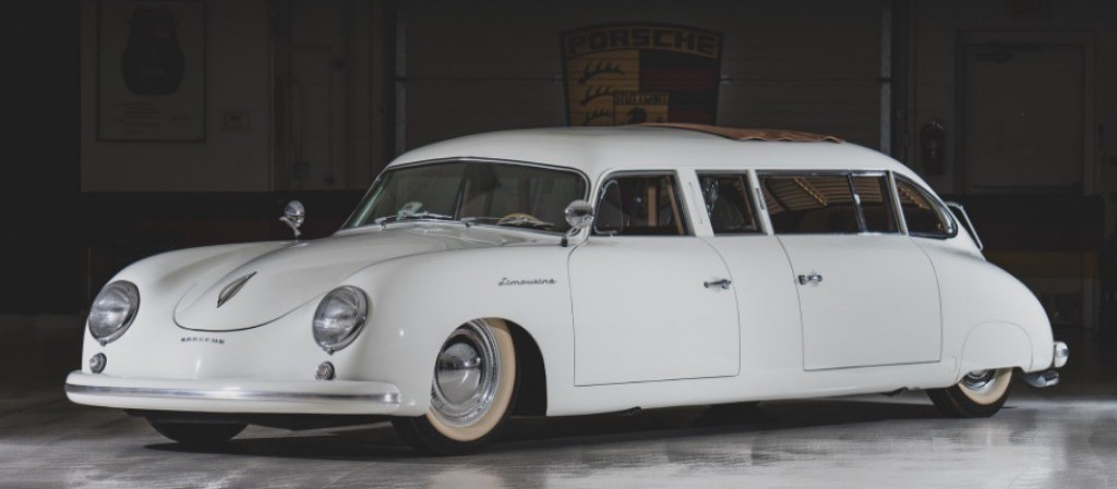 This Custom 1953 Porsche 356 Limo Is a Retro 1950s Style Panamera
