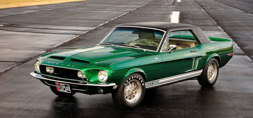 Craig Jackson and Pennzoil unveil re-restored 'Green Hornet' Mustang at SEMA