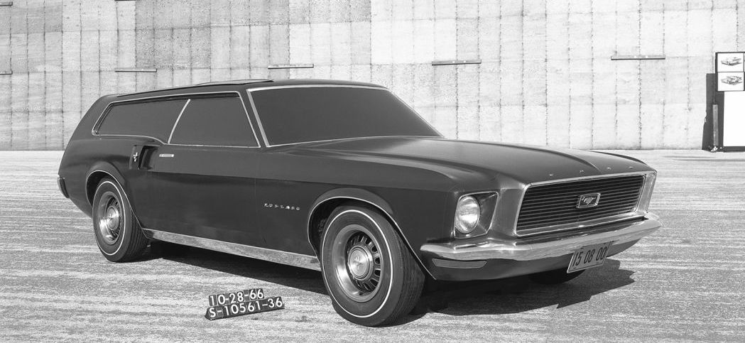 Ford Mustang was nearly turned into a family car in the 1960s