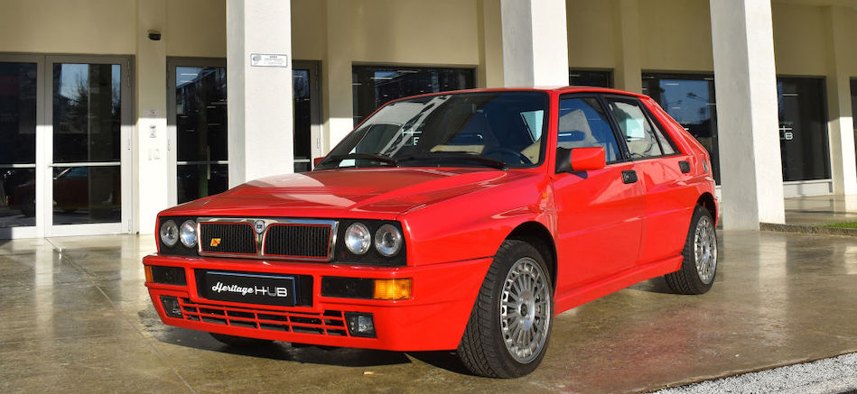 Mopar announces Lancia Delta Integrale heritage parts