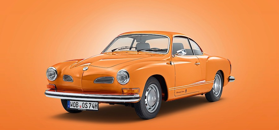 Last VW Karmann Ghia Type 14 Ever Built Goes on Public Display for the 1st Time