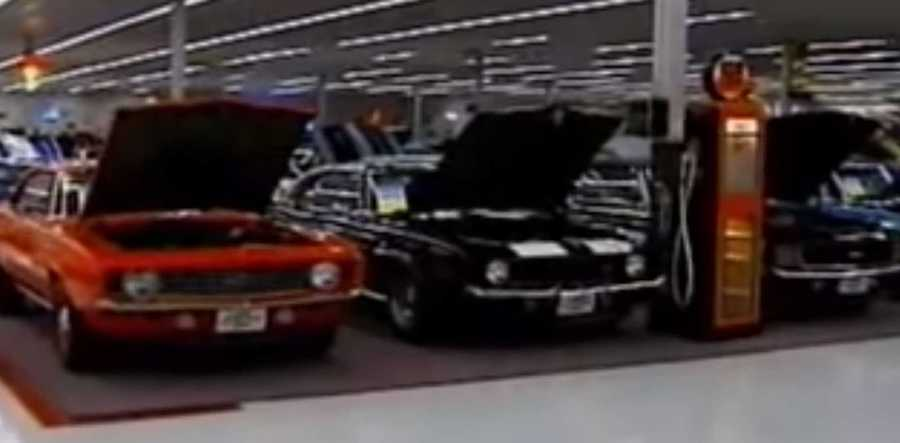 Man Buys A Walmart To Show Off His 225-Car Collection