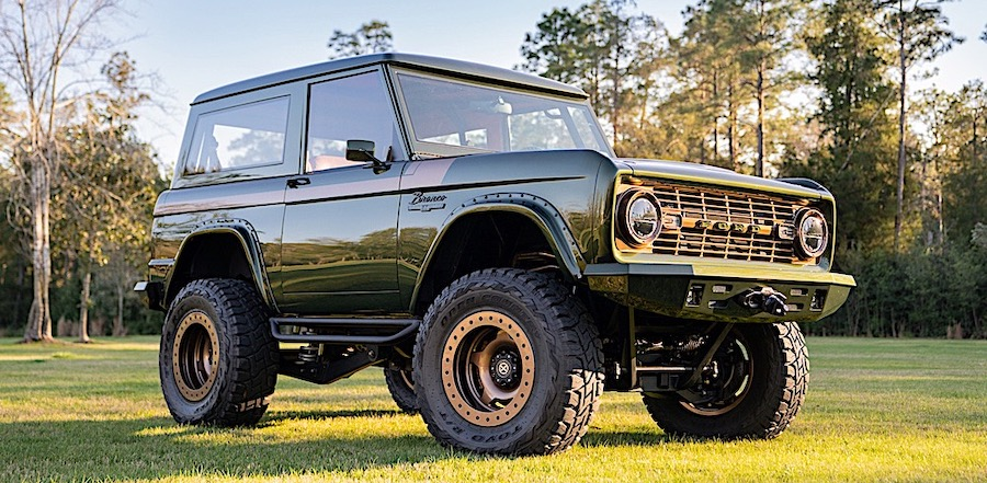 Custom 1976 Bronco Is How Ford Should Make the New One