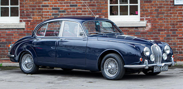 Robbie Coltrane Is Selling His 1964 Jaguar MK2 at Auction