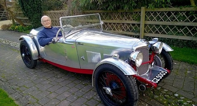 Here's Phoenix, a 1934 Riley Lynx Restored Back to Life After Barn Fire