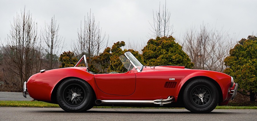 1966 Shelby 427 Cobra with Keys Touched by Carroll Shelby Himself Up for Grabs