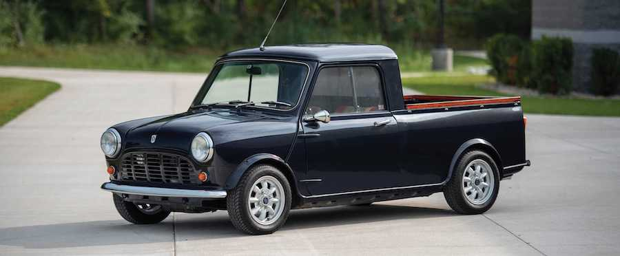 1972 Austin Mini Pickup Is The Cutest Little Truck You Can Buy