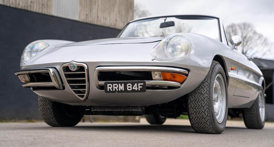 Lovely Little Alfa Romeo Spider Owned by Harry Metcalfe is up For Sale