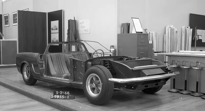1966 Ford Mustang Mid-Engine Prototype Is Real, Predates the Mach 2 Experimental