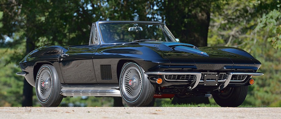 Tuxedo Black 1967 Chevrolet Corvette L88 Convertible Is the Only One of Its Kind
