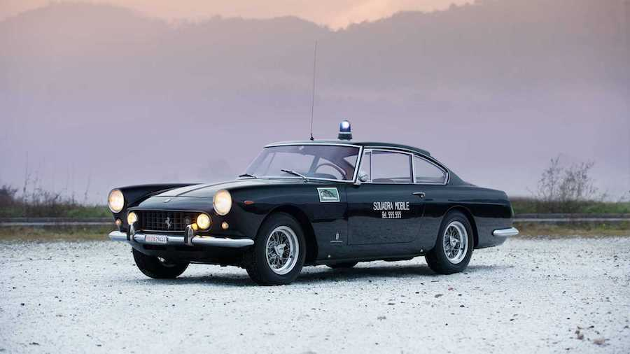 The World's Last Surviving Ferrari 250 GTE Police Car Is For Sale