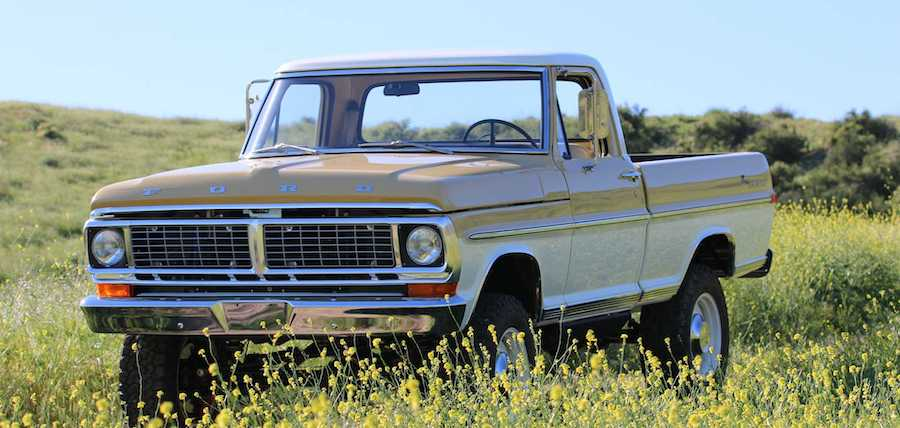 Icon Reformer 1970 Ford F-100 Conceals 426-HP V8, Modern Amenities