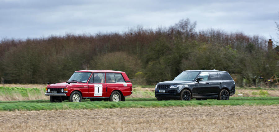 50 years of Range Rover: Mk1 prototype meets latest generation