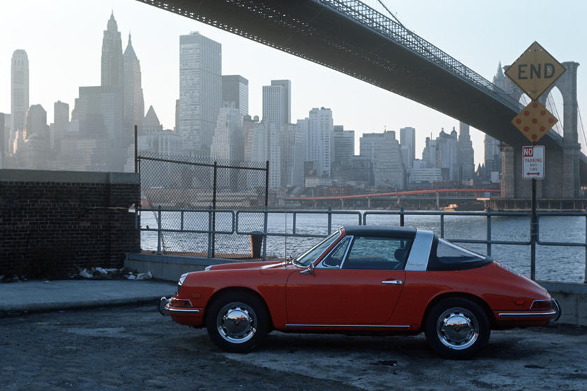 A Colorful Look At 50 Years Of The Porsche 911 Targa