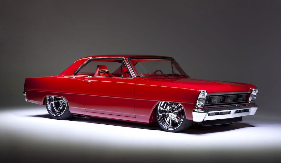 "1966 Chevy Nova ""Red Devil"" Has Two of Everything"