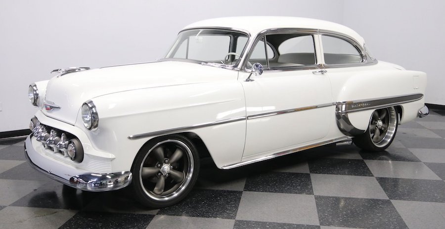 "1953 Chevrolet Bel Air ""Tri-Five Angel"" Restomod Begs to Go Cruising"