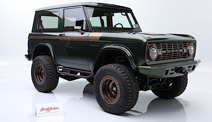 1976 Ford Bronco Sells for $195K, Proves It Still Rocks