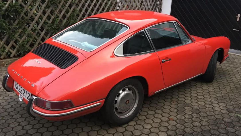 This 1967 Porsche 912 Restomod Has A Great Story