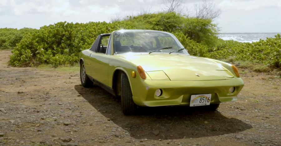 Classic 1973 Porsche 914 Turned Electric Is a True Labor of Love