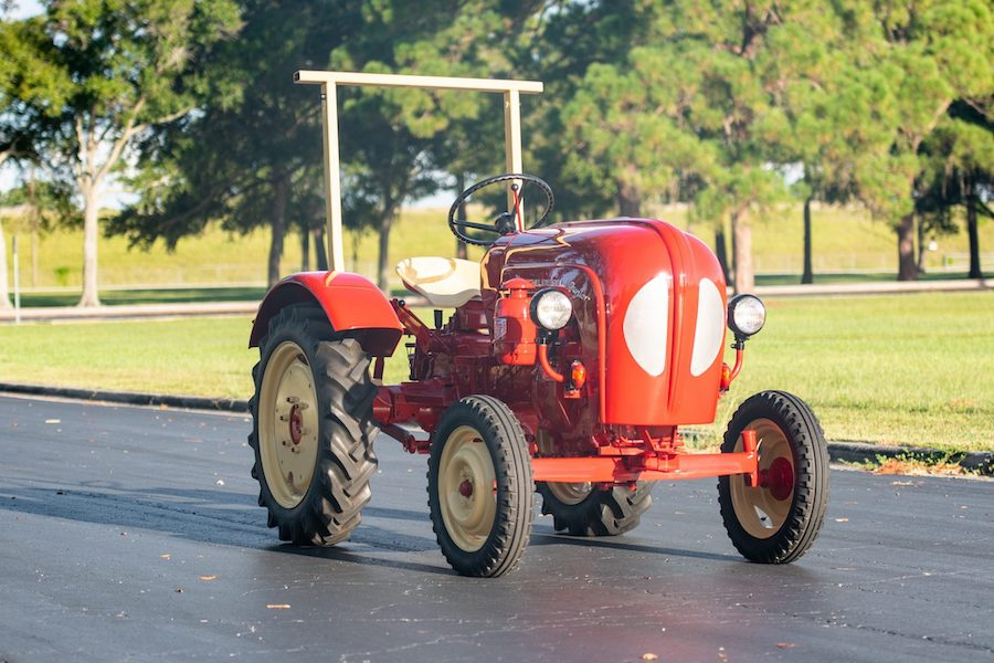 1961 Porsche Junior 108 Tractor Is Looking for a New Owner