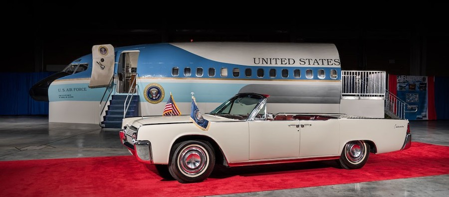 For Sale: 1963 Lincoln Continental That Carried JFK on Day of the Assassination
